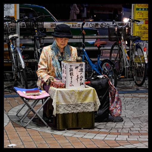 Divination de rue