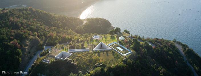 Musée Chichû creusée dans la colline