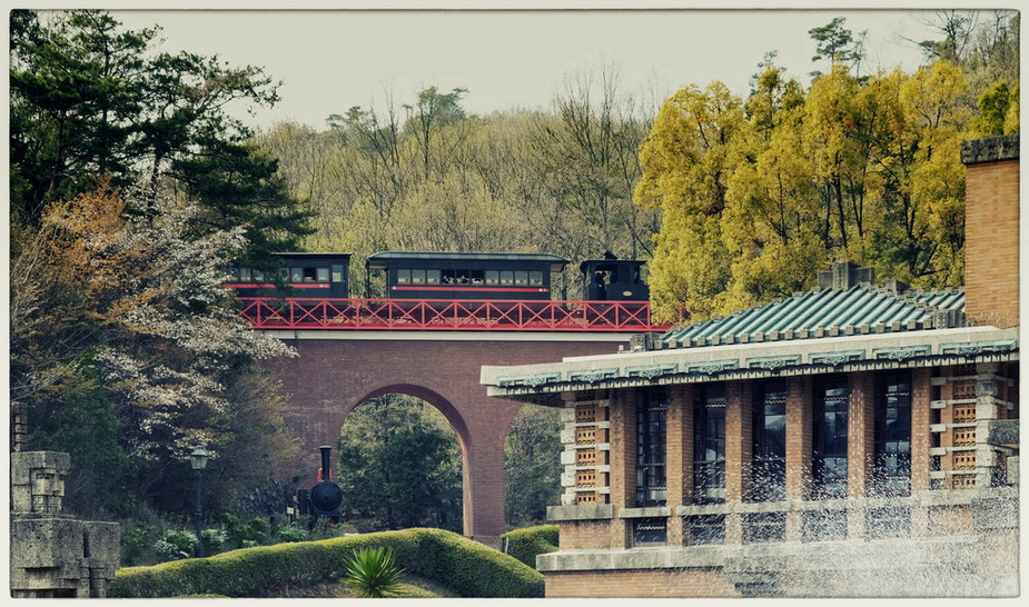 Parc musée Meiji Mura gare