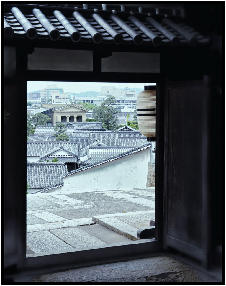 Kurashiki porte sur la ville