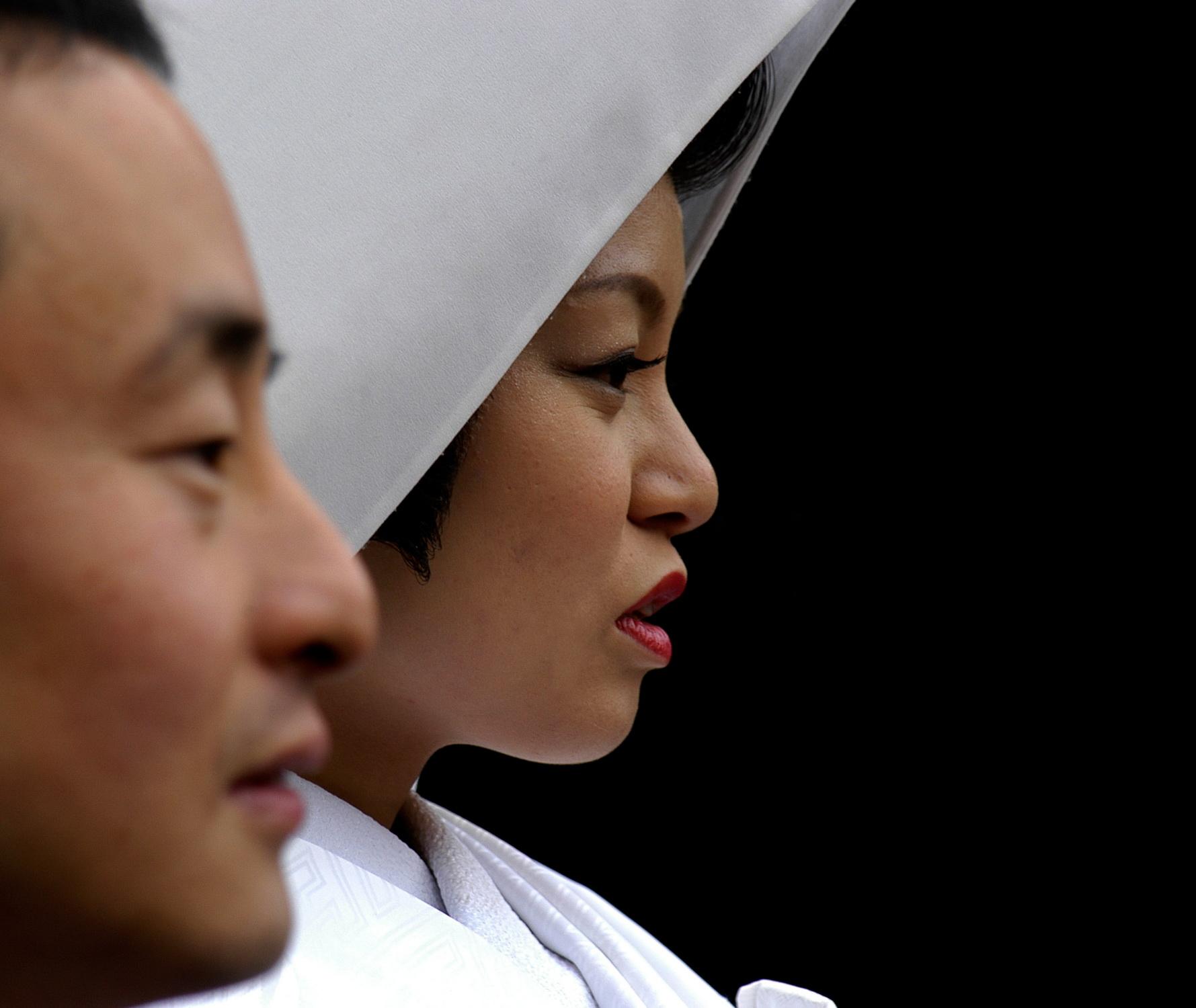 Mariage à Nara - shinto