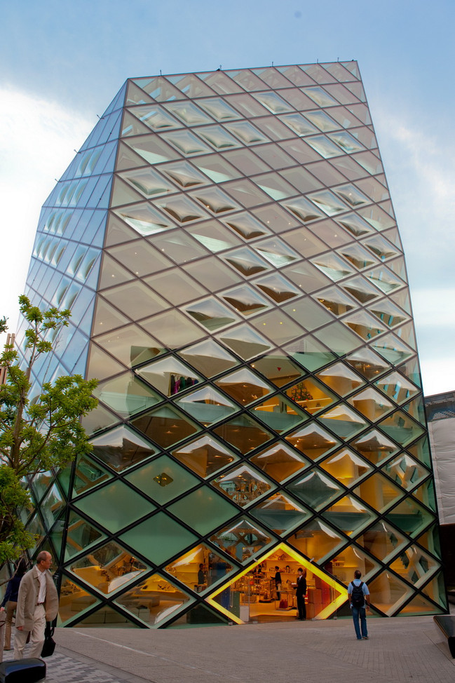 Tokyo architecture Prada