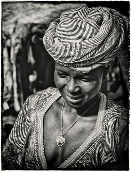 Mali - femme du fleuve Niger