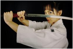 Michiko championne de sabre