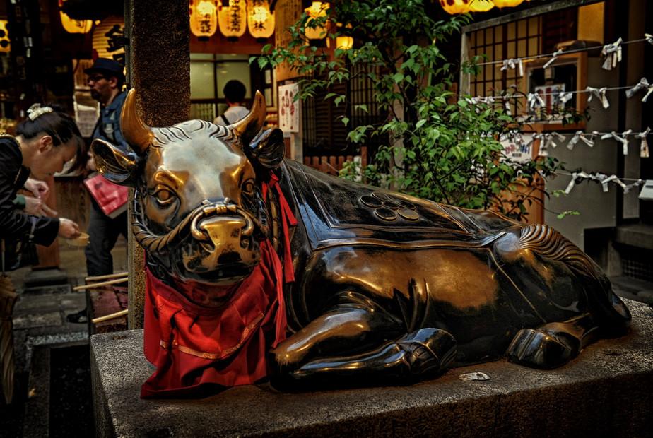 Kyoto -Temple Nishiki Temmangui