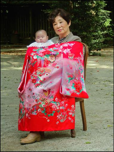 Baptême à la japonaise
