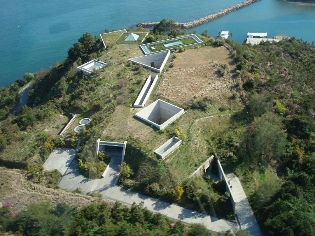 Musée Chchû à Naoshima