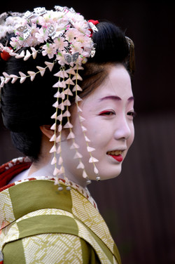 Japon  Geisha Kyoto