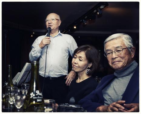 Soirée avec photographes japonais
