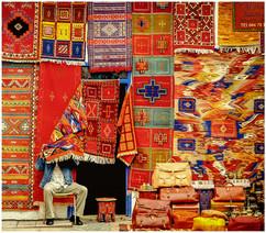 Maroc marchand de tapis cachottier
