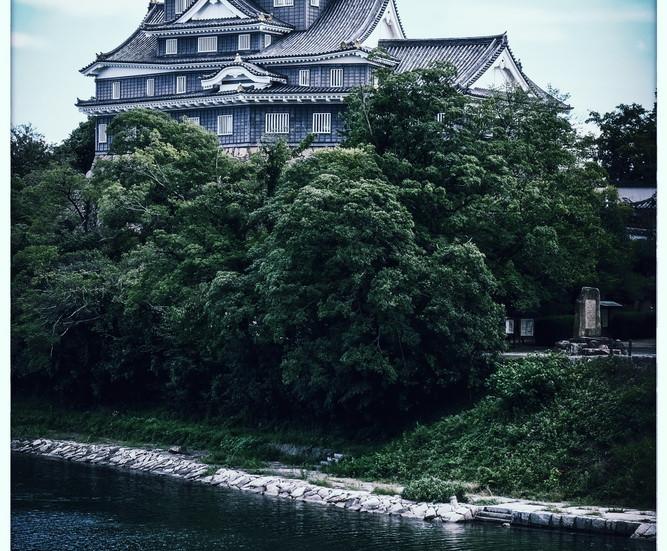 Okayama château noir