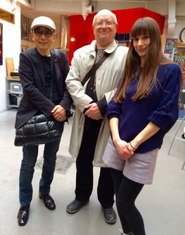 Paris Espace Japon. Esther et Takahashi