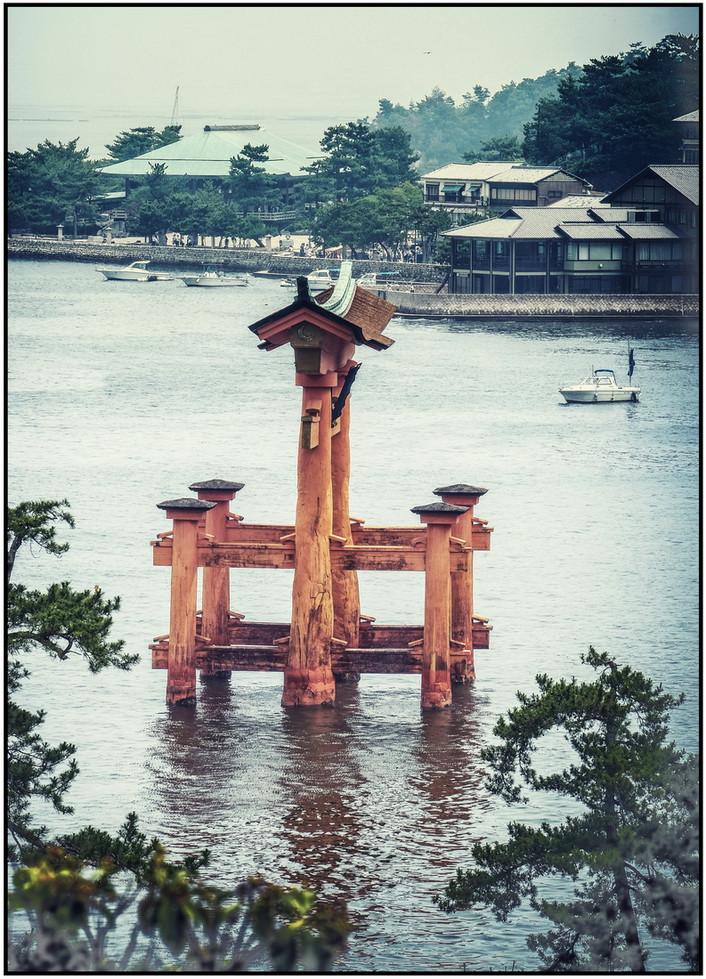 Porte des dieux Miyajima