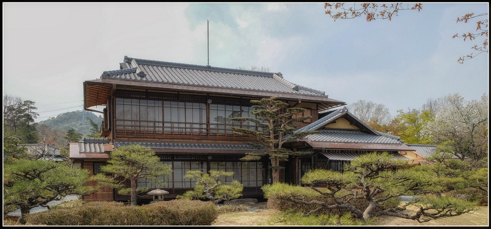 Meiji-Mura maison traditionnelle