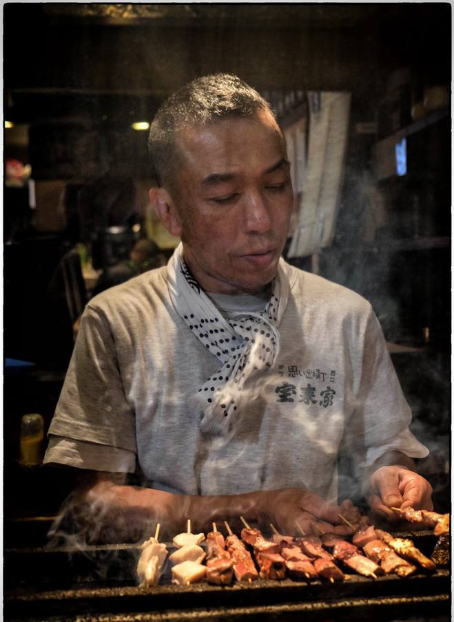 Brochettes japonaises : yakitori