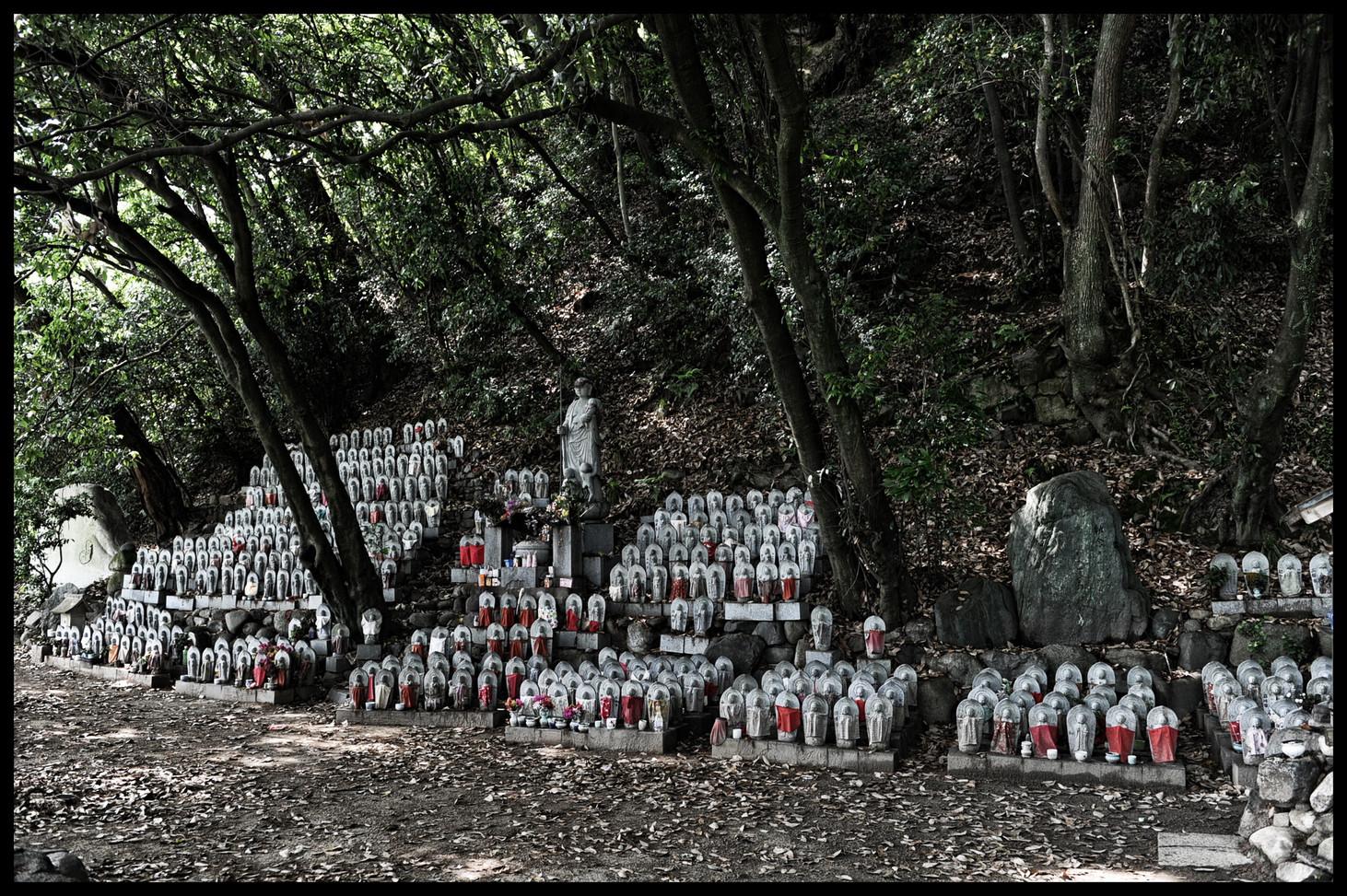 Matsuyama temple dédié aux enfants morts
