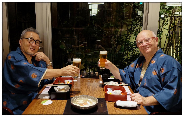 Matsue Susumu Shinya et moi