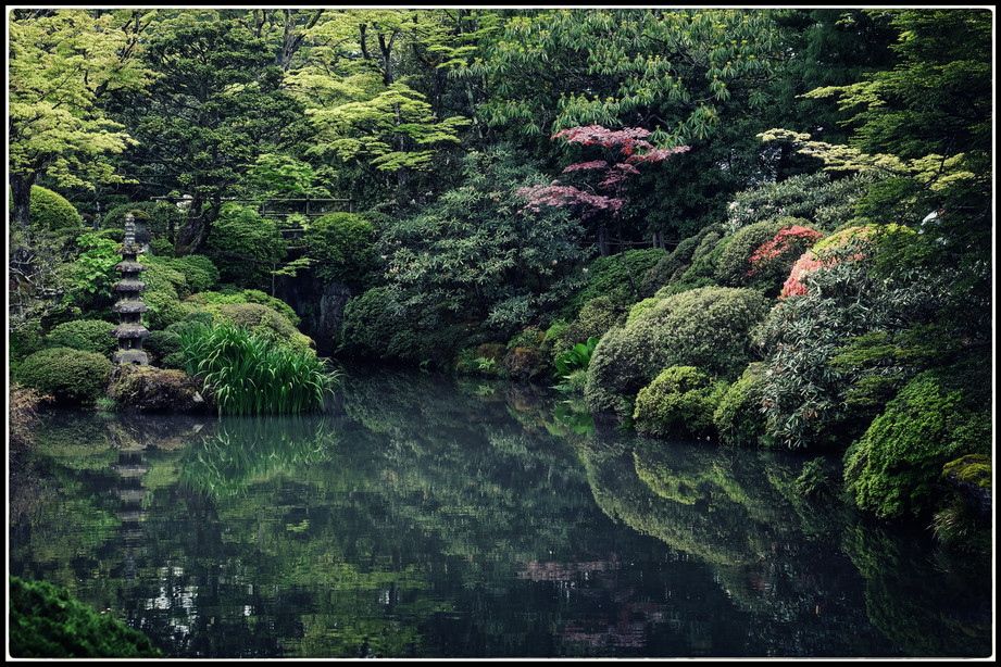 Nikko Jardin de maison de thé