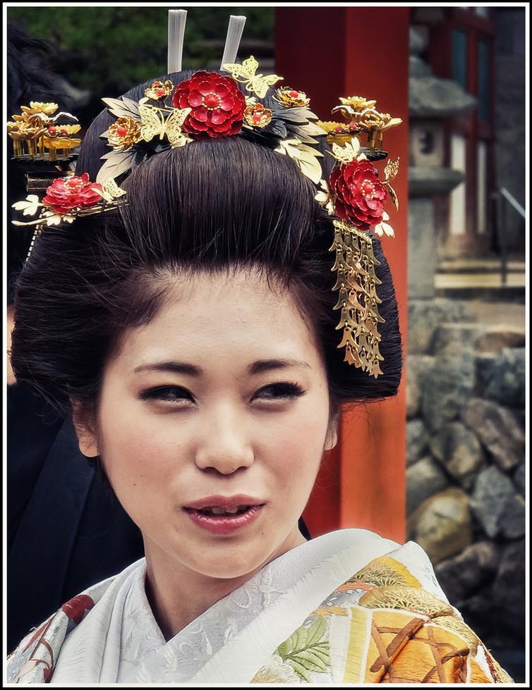 Mariée à Miyajima