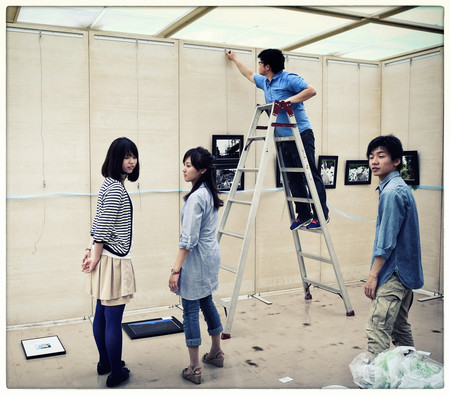 Etudiants de l'université de photo