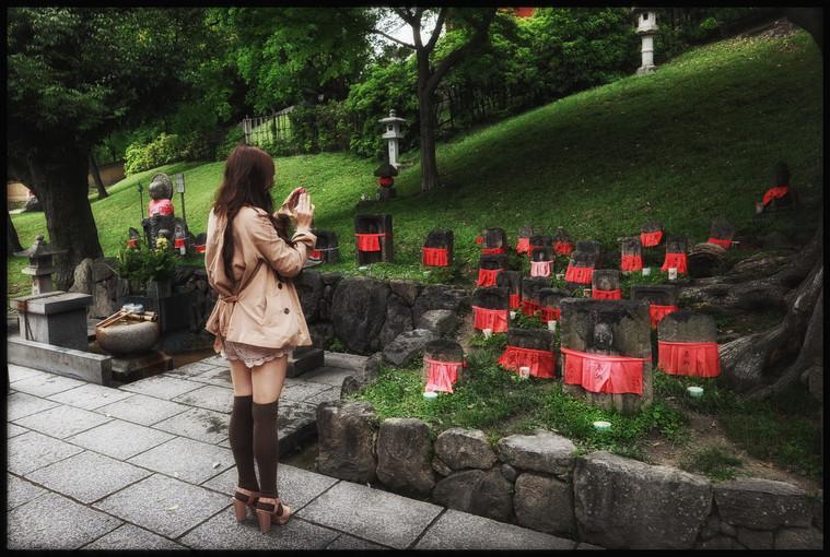 Nara - Stèles pour enfants décédés