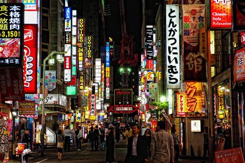 Tokyo Jinjuku night