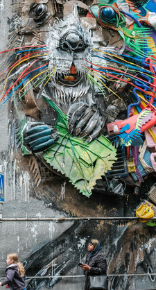 Street art  (détruit)