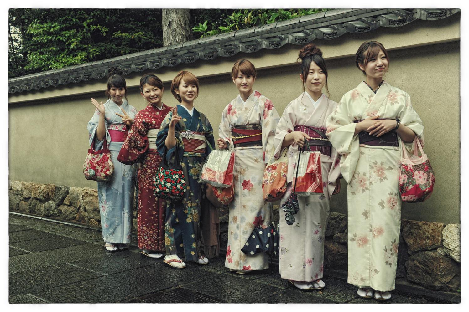 Japon jeunes filles d'Osaka