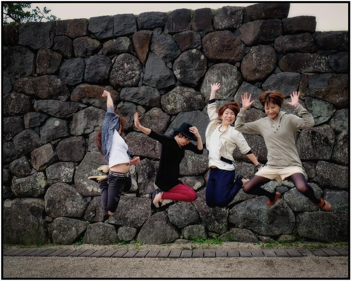 Danse amies à Matsue