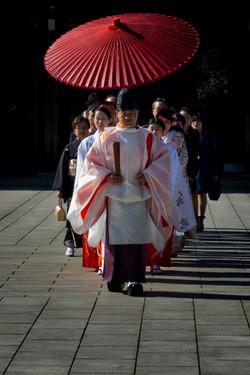 Mariage Shinto Tokyo