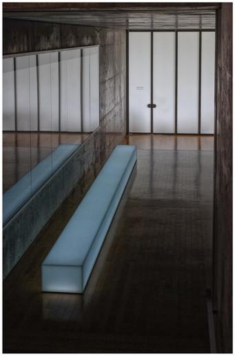 Naoshima - Un couloir de l'hôtel