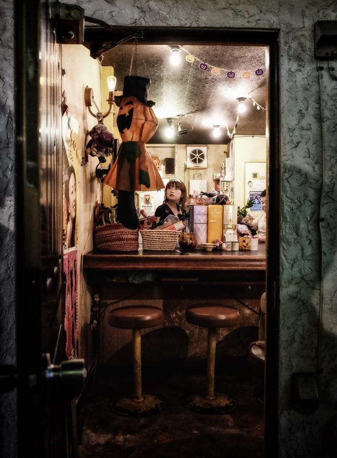 Quartier Tokyo Bar pour quelques personnes