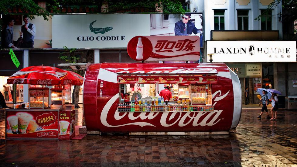 Coca Cola à Canton