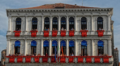 Balcons Venise Régates Historique