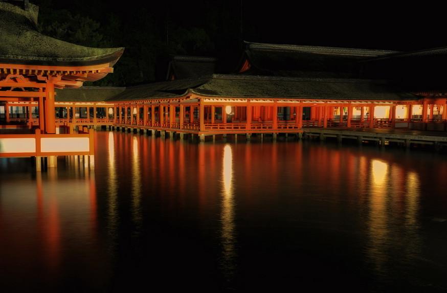 Sanctuaire shintô Itsukushima-jinja
