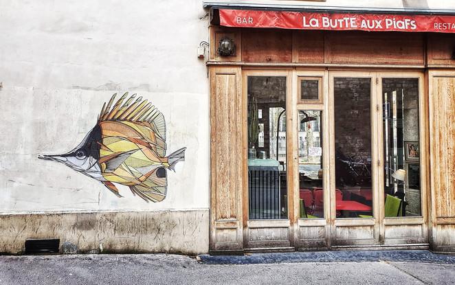 Paris Butte-aux-cailles. Piaf ?