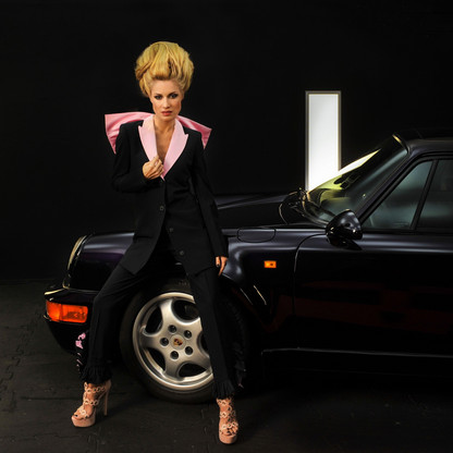 Alexia chez Porsche