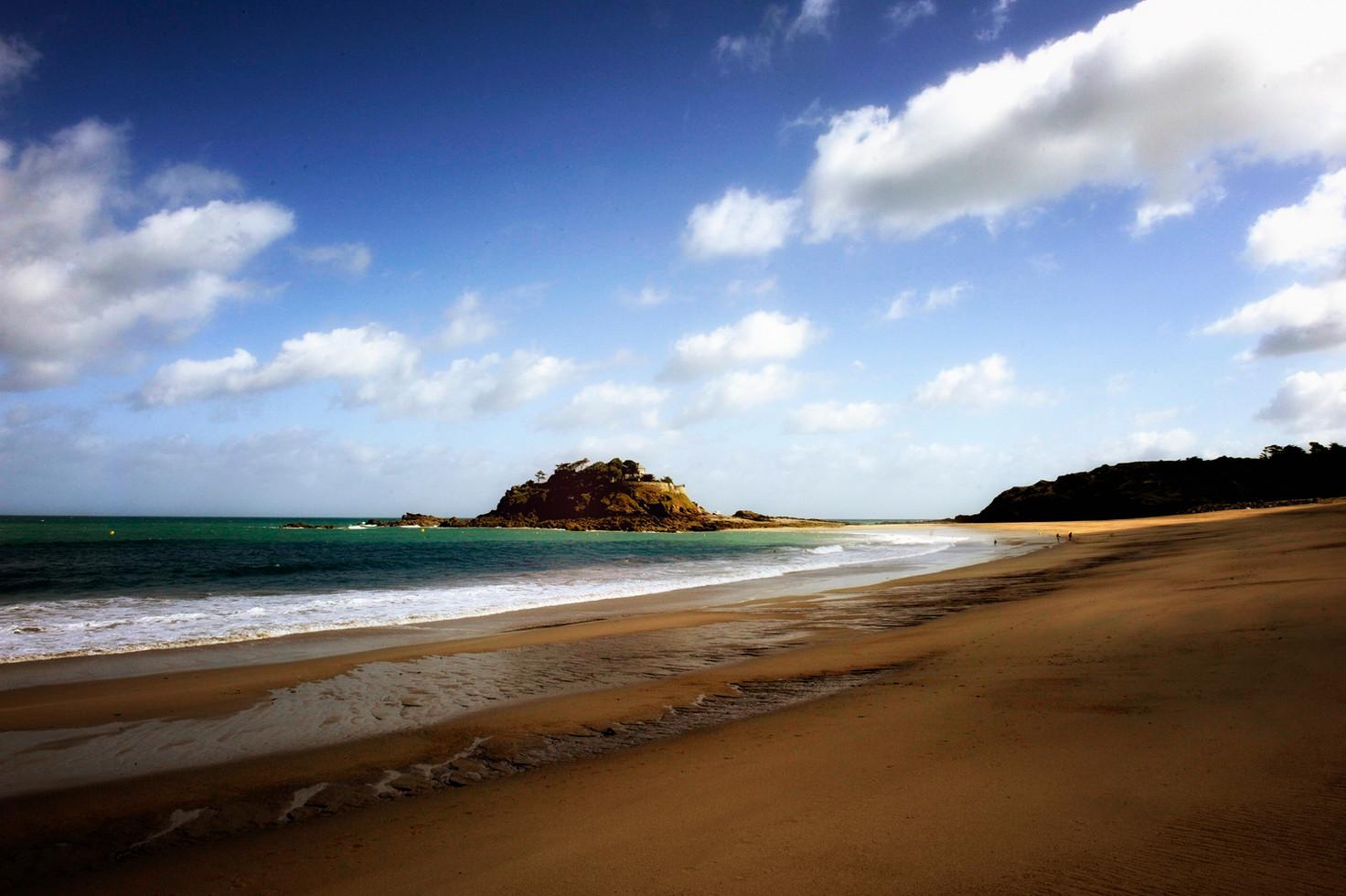 Bretagne plage Duguesclin