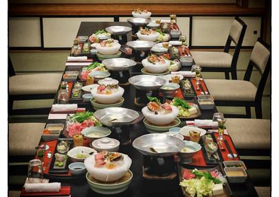 Diner entre amis - ryokan  Nikko