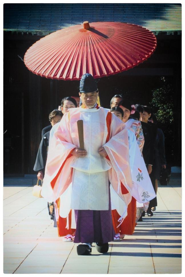 Tokyo Meiji Shinto Mariage