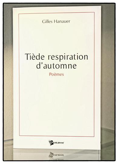 Tiède respiration d'automne - Publibook
