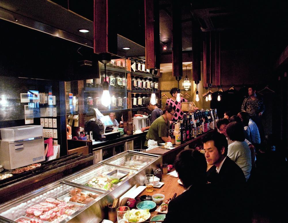Jomu restaurant Roppongi Tokyo