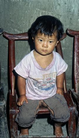 Enfant en Chine 1982