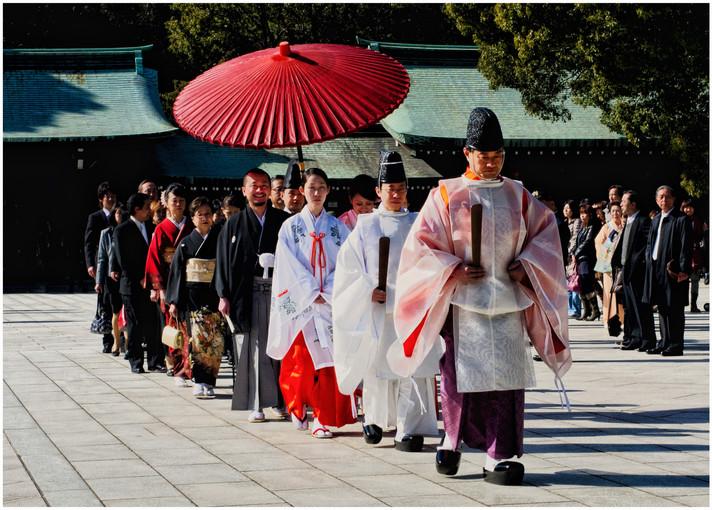 Tokyo Meiji Shrine Mariage