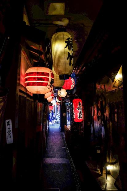 Ruelle à Kyoto