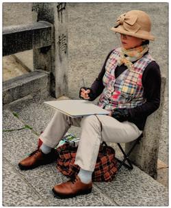 Peintre amateur Kurashiki