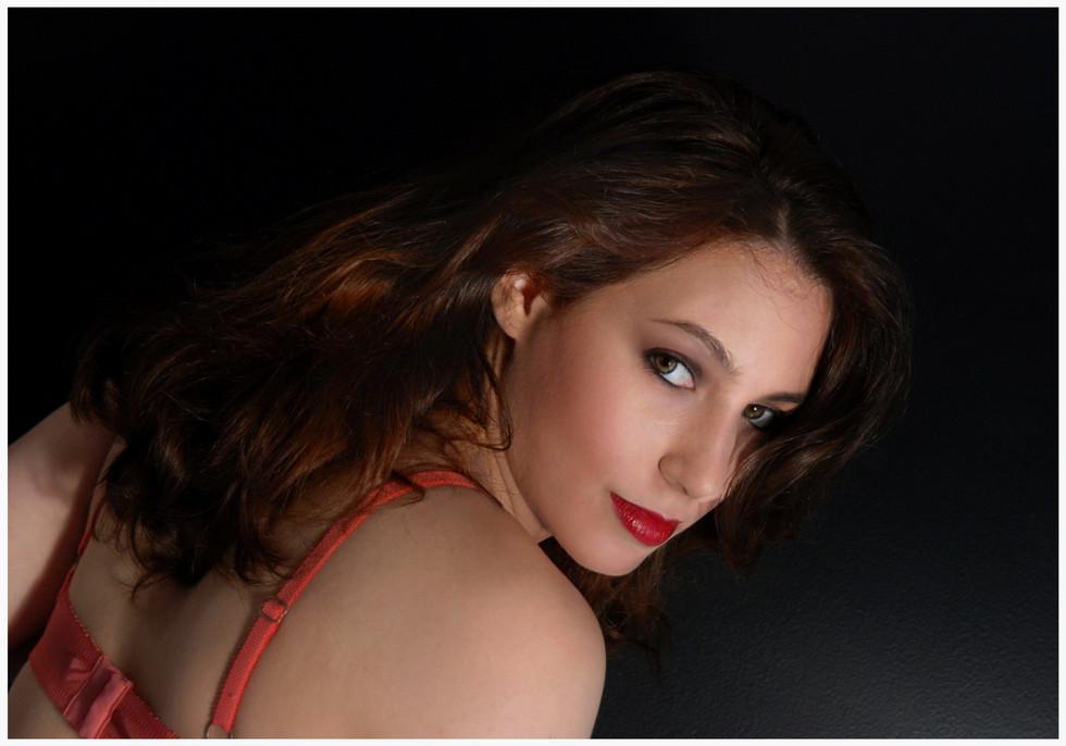 Charlotte bretelles rouge