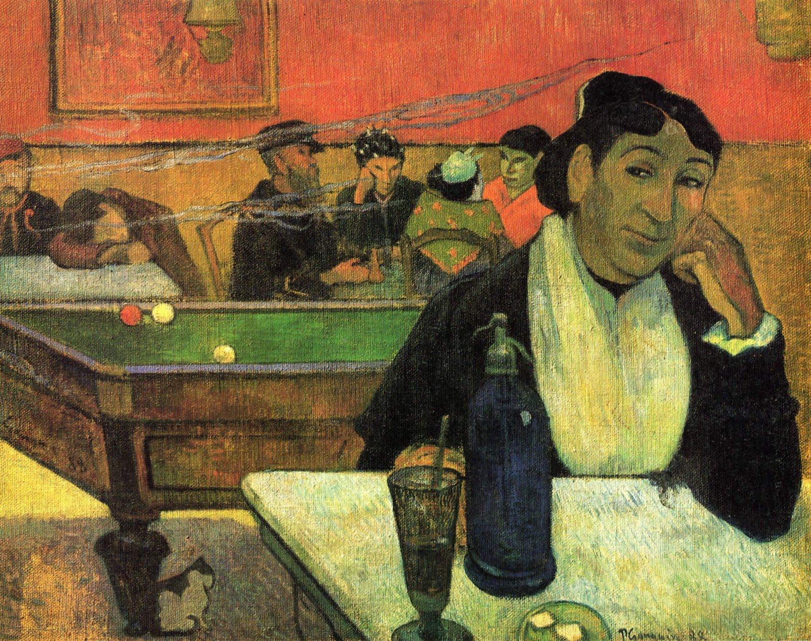 Paul Gauguin Café de nuit à Arles.jpg