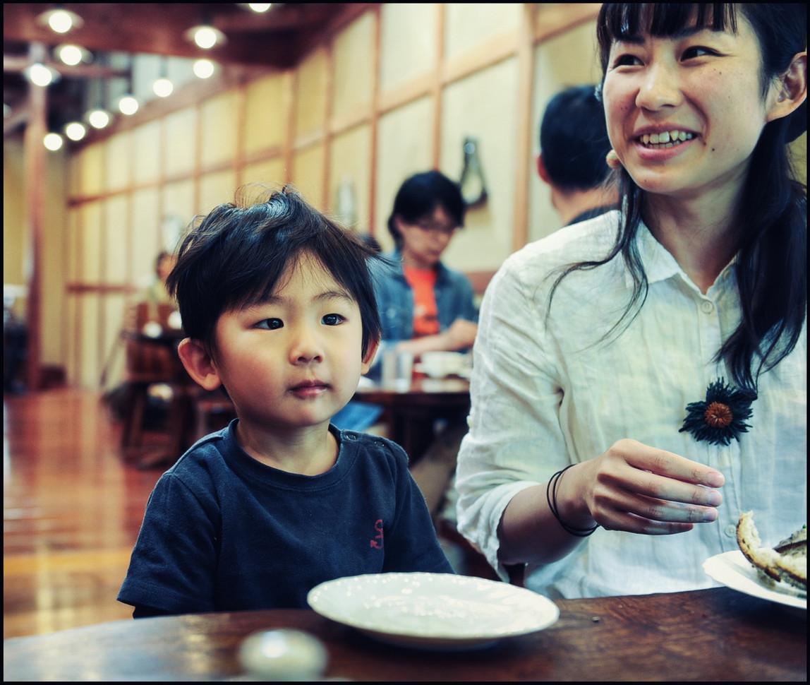 Kurashiki - petit déj en famille