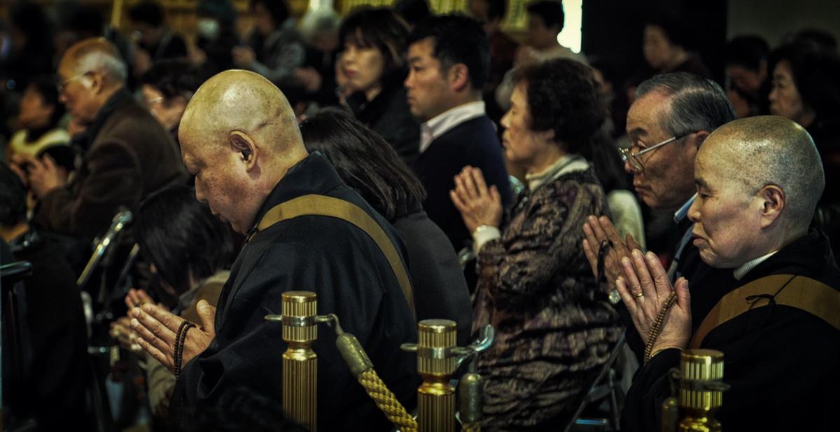 Kamakura Intronisation prêtres shigon_